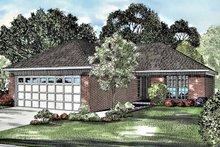 House Plan Design - Ranch Exterior - Front Elevation Plan #17-3053