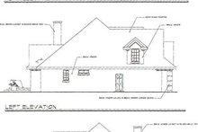 Craftsman Exterior - Rear Elevation Plan #124-418