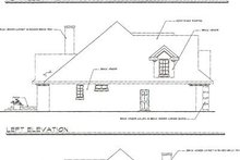 Craftsman Exterior - Rear Elevation Plan #124-418
