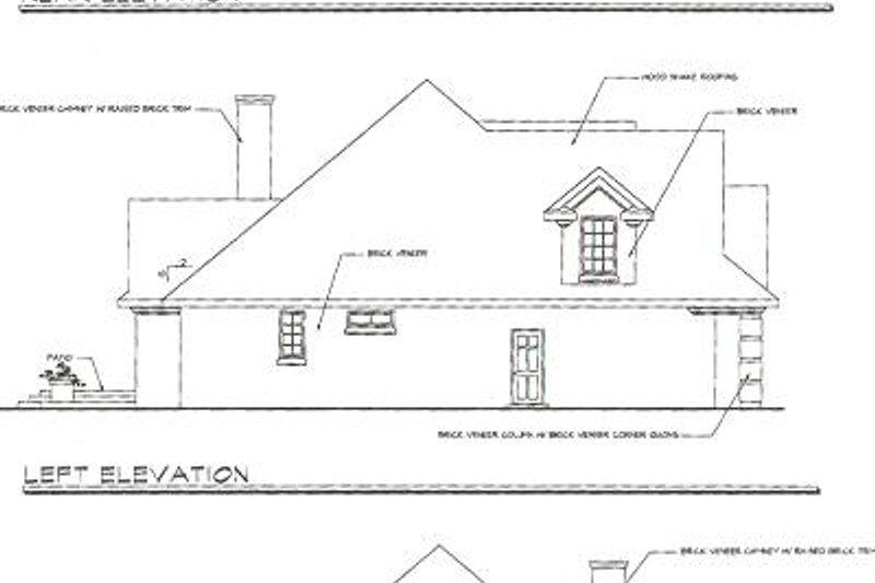 Craftsman Exterior - Rear Elevation Plan #124-418 - Houseplans.com