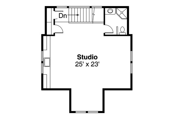 Craftsman Floor Plan - Other Floor Plan Plan #124-556