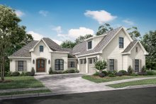 House Plan Design - European Exterior - Front Elevation Plan #430-133