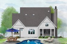 Architectural House Design - Farmhouse Exterior - Rear Elevation Plan #929-1069