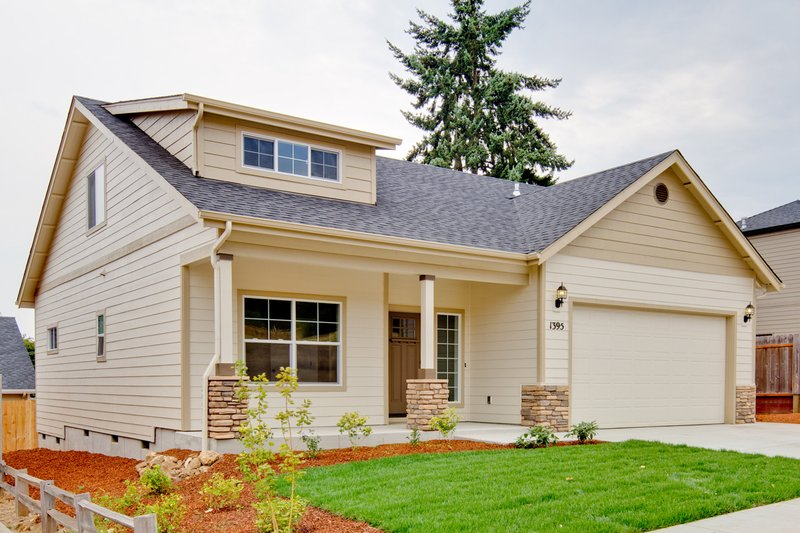Home Plan - 1700 square foot craftsman home