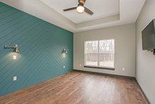 Home Plan - Ranch Interior - Master Bedroom Plan #70-1497