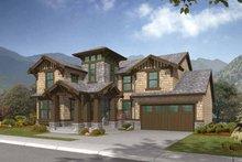 Home Plan - Craftsman Exterior - Front Elevation Plan #132-320