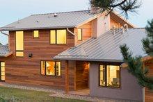 Architectural House Design - Prairie Exterior - Outdoor Living Plan #1042-17