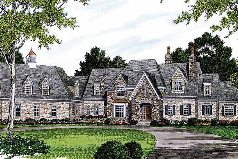 House Design - European Exterior - Front Elevation Plan #453-471