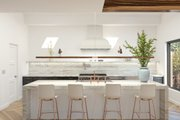 Modern Style House Plan - 3 Beds 3.5 Baths 2574 Sq/Ft Plan #1076-2 Interior - Kitchen