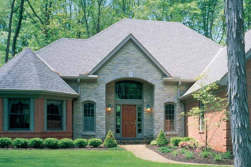 Country Exterior - Front Elevation Plan #46-537 - Houseplans.com