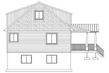 Cabin Exterior - Other Elevation Plan #1060-24