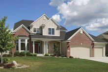 Dream House Plan - Country Exterior - Front Elevation Plan #320-999