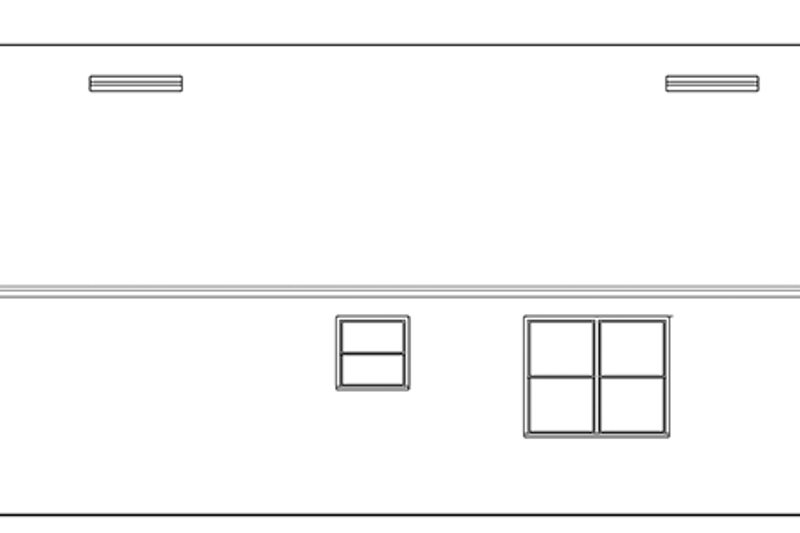 Ranch Exterior - Other Elevation Plan #1058-104 - Houseplans.com