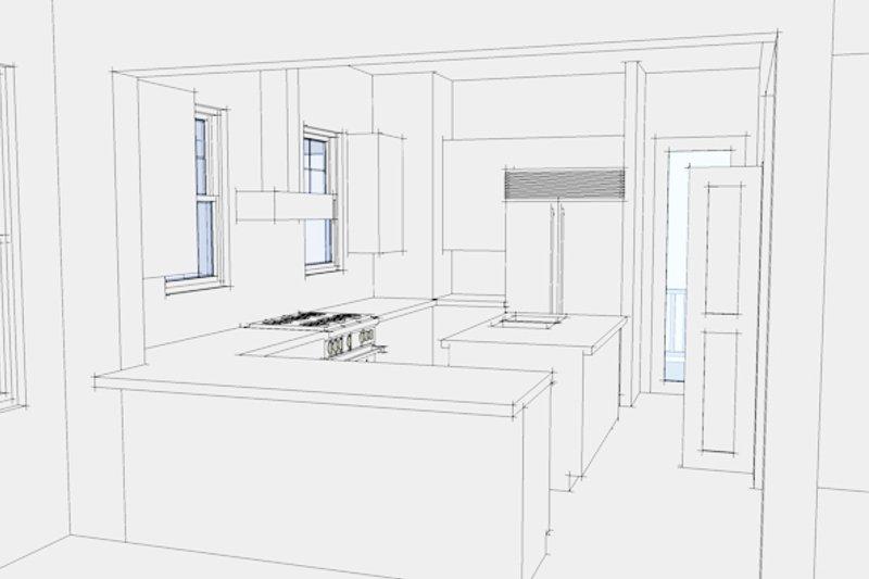 Country Interior - Kitchen Plan #64-282 - Houseplans.com