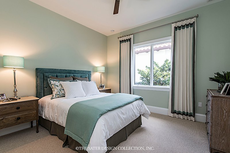 Mediterranean Interior - Bedroom Plan #930-458 - Houseplans.com