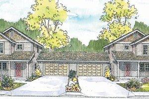 Craftsman Exterior - Front Elevation Plan #124-811