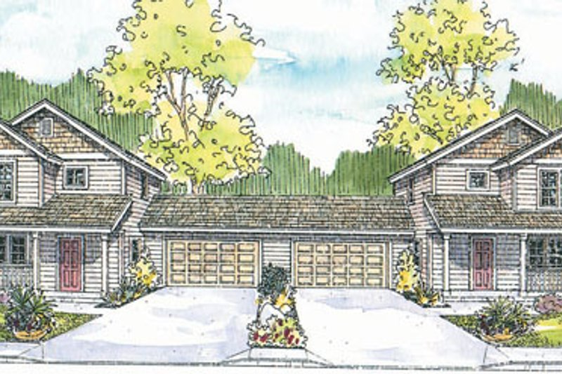 Craftsman Style House Plan - 6 Beds 3 Baths 2534 Sq/Ft Plan #124-811 Exterior - Front Elevation
