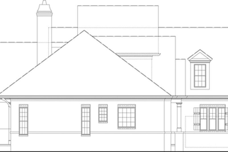 European Exterior - Other Elevation Plan #119-420 - Houseplans.com