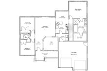 Ranch Floor Plan - Main Floor Plan Plan #1060-10