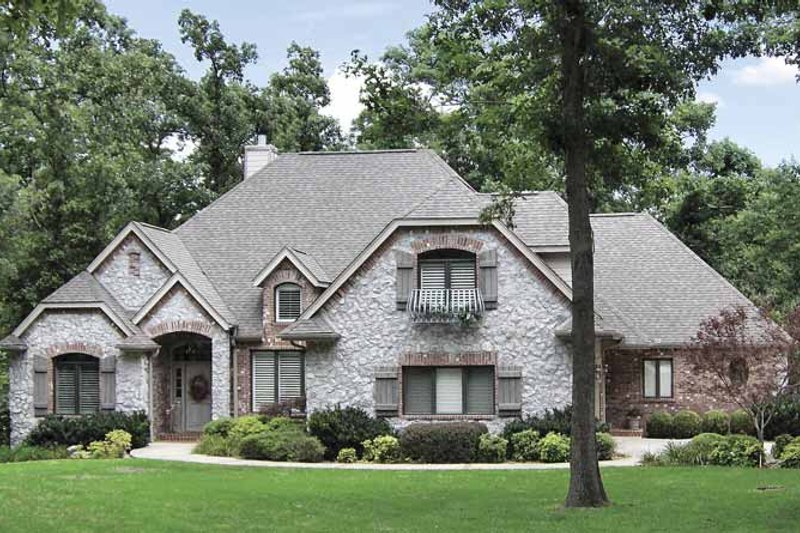 Country Exterior - Front Elevation Plan #52-275 - Houseplans.com