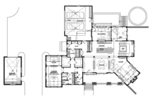 Craftsman Floor Plan - Main Floor Plan Plan #928-295