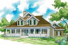 Home Plan - Victorian Exterior - Front Elevation Plan #930-224
