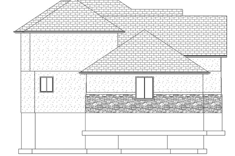 Traditional Exterior - Other Elevation Plan #1060-25 - Houseplans.com