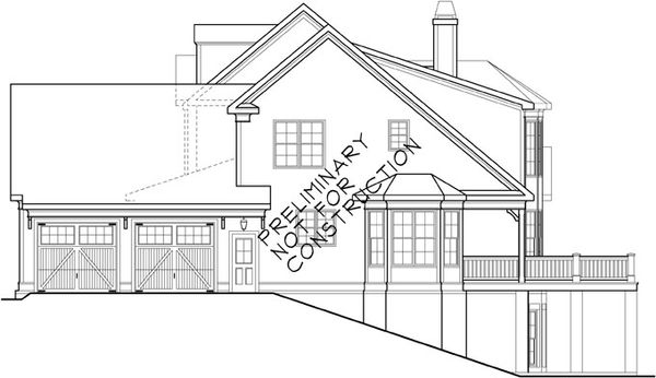 Country Floor Plan - Other Floor Plan Plan #927-414