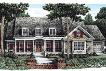 Country Exterior - Front Elevation Plan #927-284