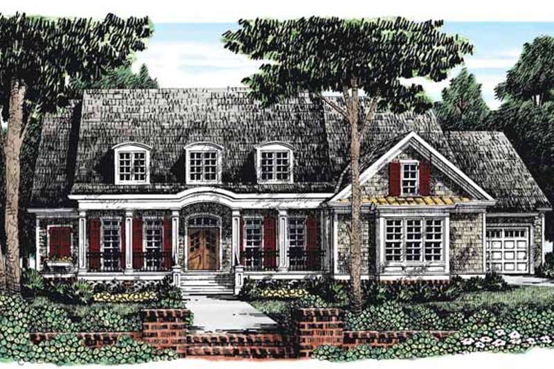 House Plan Design - Country Exterior - Front Elevation Plan #927-284