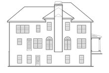 Country Exterior - Rear Elevation Plan #927-643