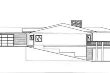 Home Plan - Contemporary Exterior - Other Elevation Plan #117-842