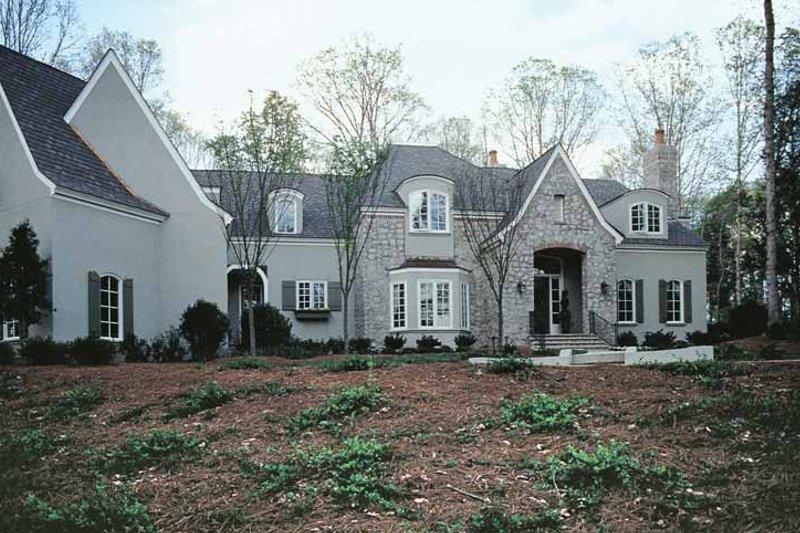 Dream House Plan - European Exterior - Front Elevation Plan #453-242
