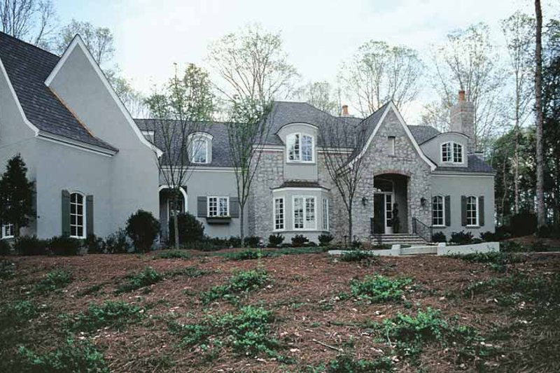Home Plan - European Exterior - Front Elevation Plan #453-242