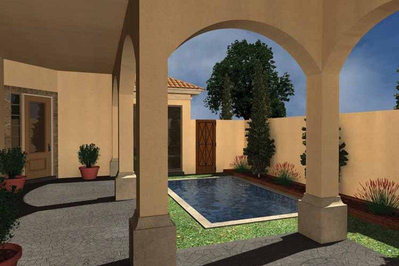Mediterranean Exterior - Rear Elevation Plan #930-431 - Houseplans.com