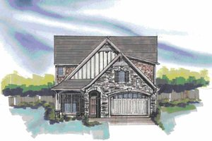 House Plan Design - Traditional Exterior - Front Elevation Plan #509-359