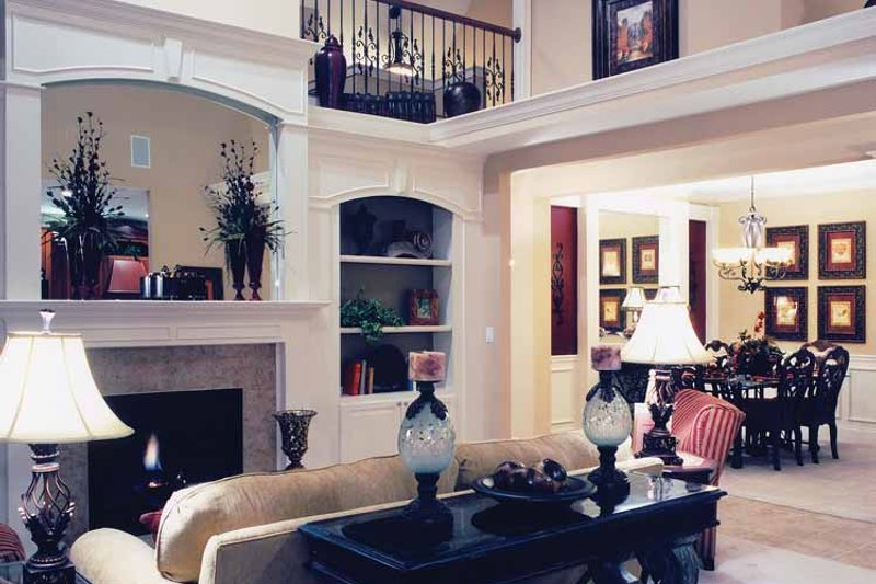 Craftsman Interior - Family Room Plan #46-652 - Houseplans.com
