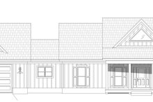 Home Plan - Farmhouse Exterior - Front Elevation Plan #932-388