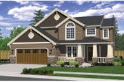 Craftsman Style House Plan - 3 Beds 2.5 Baths 2018 Sq/Ft Plan #943-23 Exterior - Front Elevation