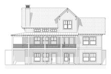 Farmhouse Exterior - Rear Elevation Plan #901-11