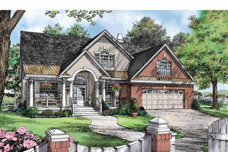 Country Exterior - Front Elevation Plan #929-888 - Houseplans.com