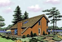 Contemporary Exterior - Front Elevation Plan #314-260