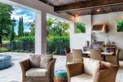 Mediterranean Style House Plan - 3 Beds 3.5 Baths 3648 Sq/Ft Plan #930-449
