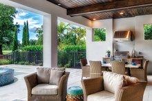Dream House Plan - Mediterranean Exterior - Rear Elevation Plan #930-449