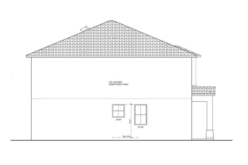 Mediterranean Exterior - Other Elevation Plan #1058-61 - Houseplans.com