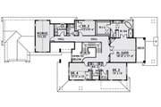 Traditional Style House Plan - 5 Beds 4.5 Baths 4161 Sq/Ft Plan #1066-19 Floor Plan - Upper Floor Plan