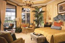 Mediterranean Interior - Master Bedroom Plan #930-92