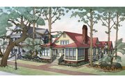 Country Style House Plan - 3 Beds 3.5 Baths 2843 Sq/Ft Plan #928-251