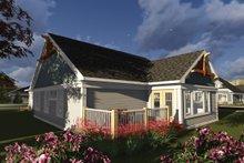 Architectural House Design - Ranch Exterior - Rear Elevation Plan #70-1241