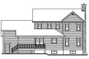 Farmhouse Style House Plan - 3 Beds 2.5 Baths 2183 Sq/Ft Plan #23-293 Exterior - Rear Elevation